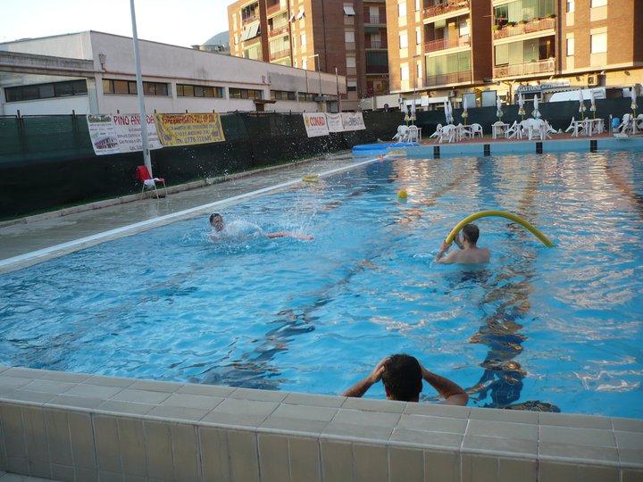 Il sindaco di aquino tempestivo intervento dei gestori for Piani del padiglione della piscina