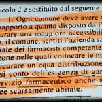 L'EX SINDACO GRINCIA: IO E LA MIA GIUNTA NEL 2012, PER IL NUOVO PUNTO FARMACEUTICO, ABBIAMO DELIBERATO NEL RISPETTO  DELLA NORMATIVA DI LEGGE....