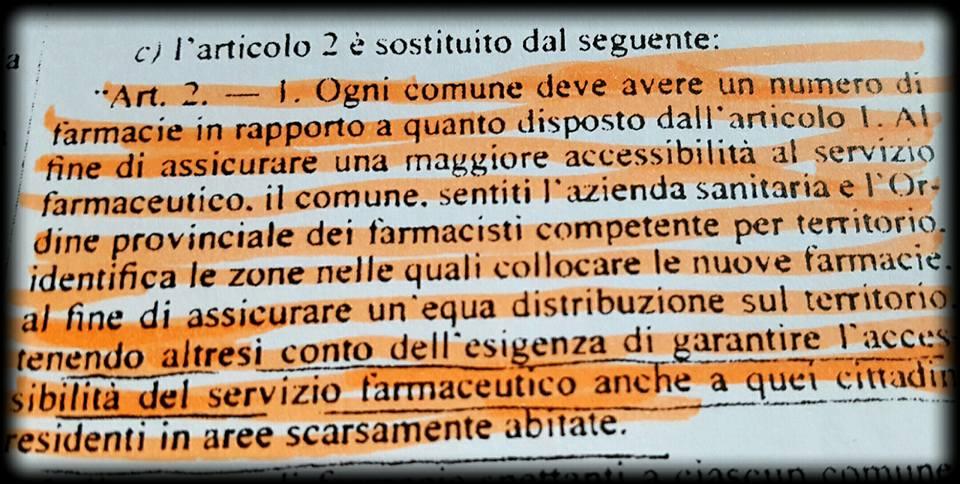 L'EX SINDACO GRINCIA: IO E LA MIA GIUNTA NEL 2012, PER IL NUOVO PUNTO FARMACEUTICO, ABBIAMO DELIBERATO NEL RISPETTO  DELLA NORMATIVA DI LEGGE….